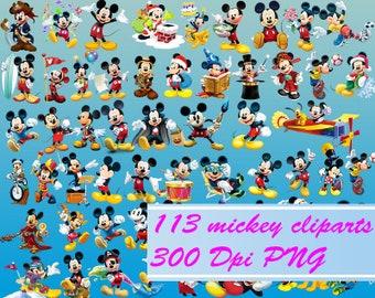 Disney Mickey Clipart - 300 DPI - PNG-mickey clipart,disney clipart,clipart mickey mouse,clipart disney,clipart,PNG,mickey png,