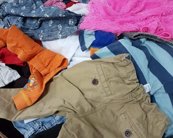 Mixed grade A used clothes in bails of 55 kilo