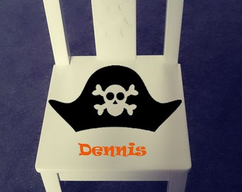 Personalized kids chair - Pirate