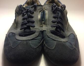 Calvin Klein Blue Suede shoes size 13 men's