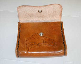 Custom Leather Belt Pouch