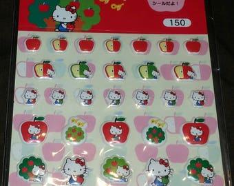 Kawaii Hello Kitty Sticker Sheet From Tokyo, Japan