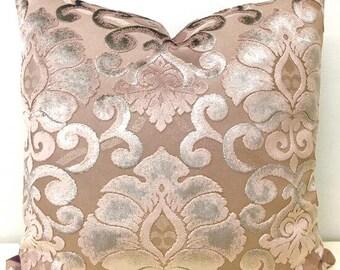 Dark Pink Velvet Pillow Cover, Velvet Pillow, 18X18 Pink Pillows, Decorative Throw Pillow, Velvet Cushion, Dark Pink Velvet Pillow Covers