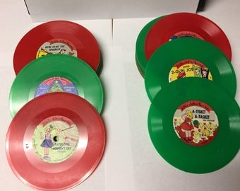 Vintage Little John Records from the 1950's