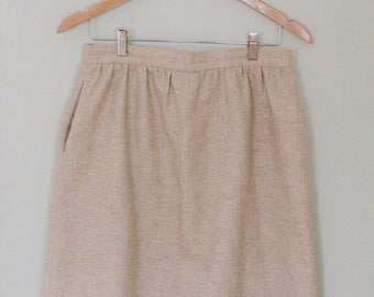 Vintage Wool Skirt Size 14