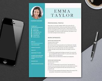 cv template for microsoft word minimal resume template design professional cv design colour