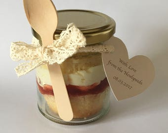 Cupcake in a Jar - Cake in a Jar - Cupcake Jar - Cake Jar - Wedding Favour - Favor - Party Favour - Edible Gift - Sweet Treat - Chocolate