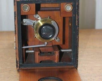 Rare Antique No 4 Bulls-eye Special Model C Camera by Eastman Kodak - 1899