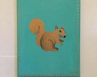Squirrel Spirit Animal Painting