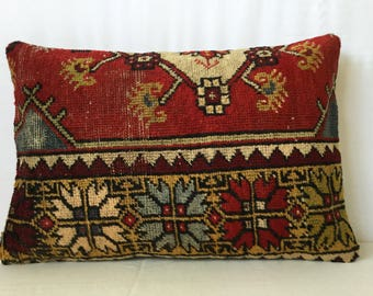 60x40 cm 24x16 inch,Rug Pillow,Kilim Pillow,Carpet Pillow,Moroccon Pillow,Decorative Pillow,Handmade Pillow,Throw Pillows,Accent Pillows,
