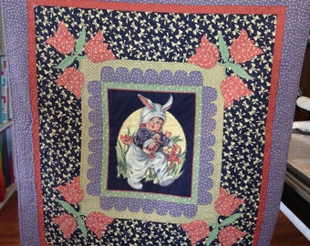 "Baby Quilt finished size 39"" x 42"""