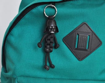 Darth Vader from Star Wars paracord keychain