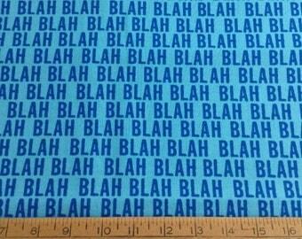 8  inches of Maxine/blah blah blah  cartoon cotton fabric