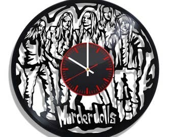 Murderdolls wall clock with original design
