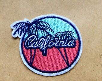CALIFORNIA Iron on