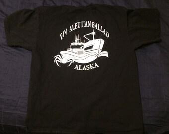 Vintage F/V Aleutian Ballad Alaska T-Shirt