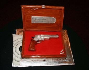 3D Gun Cake Topper