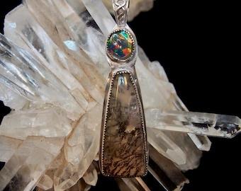 Opal Forest Pendant