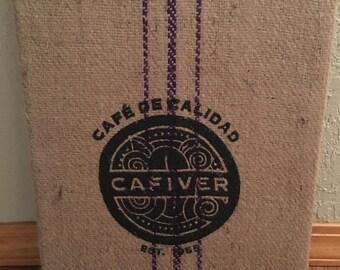 coffee bag art