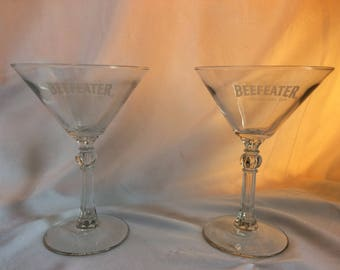 Beefeater Martini Glasses