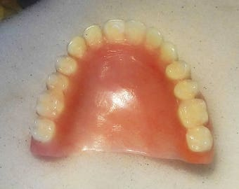 FULL  UPPER DENTURE  Real False  Teeth