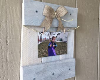 Rustic Distressed Picture Frame