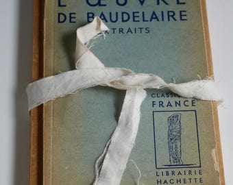 French Vintage Book for Mixed Media Artists -