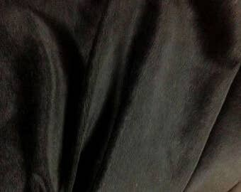 Black Cotton Velvet Fabric, Black Velvet Fabric By The Yard