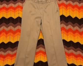 Vintage Penneys Big Mac khaki pants 36x28.5