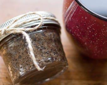 Coffee Coffee Coffee Sugar Scrub with Essential Oils