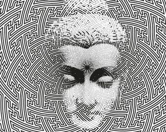 Sayagata Buddha print