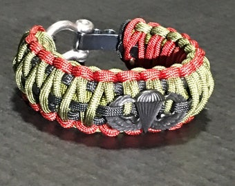 Military airborne bracelet
