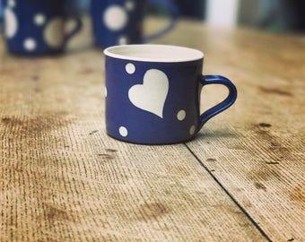 Heart Espresso Mug