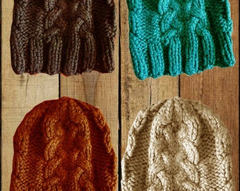 Beanies for womens and girls. Colour on order.
