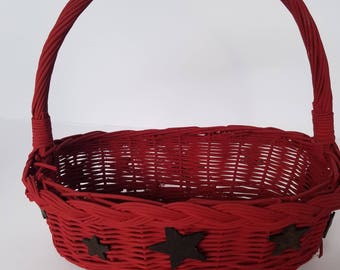 Red star basket