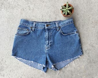 Vintage Mid Rise Shorts