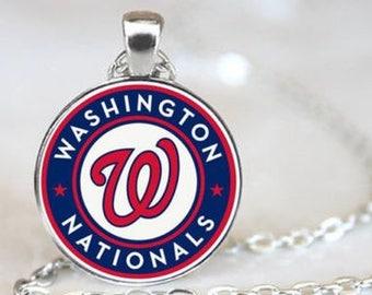 Washington Nationals MLB Necklace Pendant