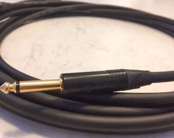 Mogami Overdrive Platinum Guitar Cable with GOLD plated Neutrik Jacks PREMIUM AUDIOPHILE  #3368