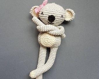 Doudou Koala amigurumi - soft and cuddly plush handmade: gift, child, toys, handmade, baby shower