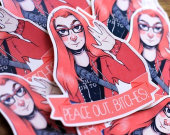 Charlie Bradbury - Sticker - Supernatural
