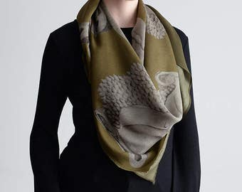 Wrap Yourself in Buddha Silk Wool - Herb