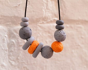 Jaffa Polymer Clay Necklace