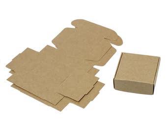 Pack 10 boxes Craft cardboard-gift, packaging, packaging ref. 192277-1