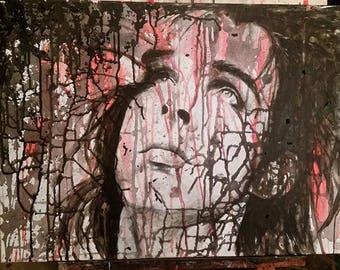 portrait of Nick Cave