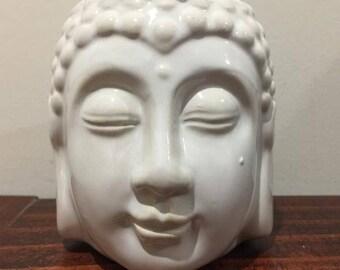 Ceramic Buddha Head Design Oil Burner