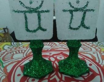 HeartChakra Vases (set)