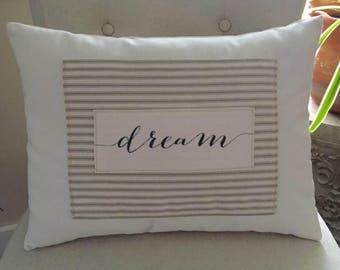 Dream Word Custom Decorative Pillow