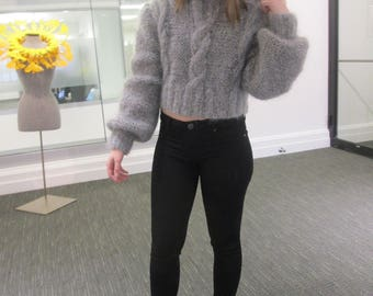 Hand Knitted Mohair - Fun and Flirty !!!