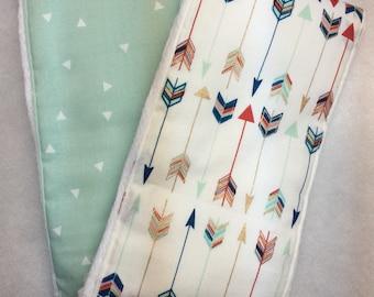 Burp cloths for baby boy or girl, gender neutral burp cloth sets
