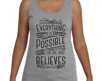 Everything is Possible Women Top Tank
